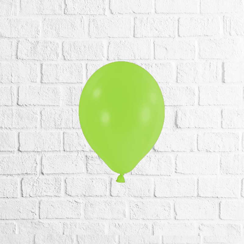 Latexballon Lime Green