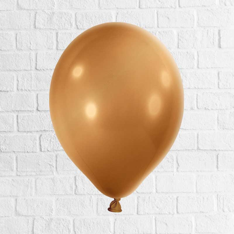 Latexballon gold