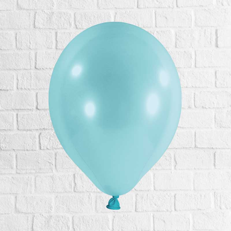 Latexballon hellblau