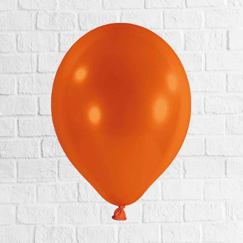 Latexballon orange