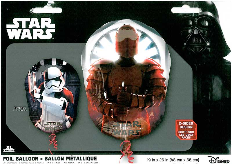 "SuperShape-Ballon ""Star Wars - 1st Jedi"" 2sided"