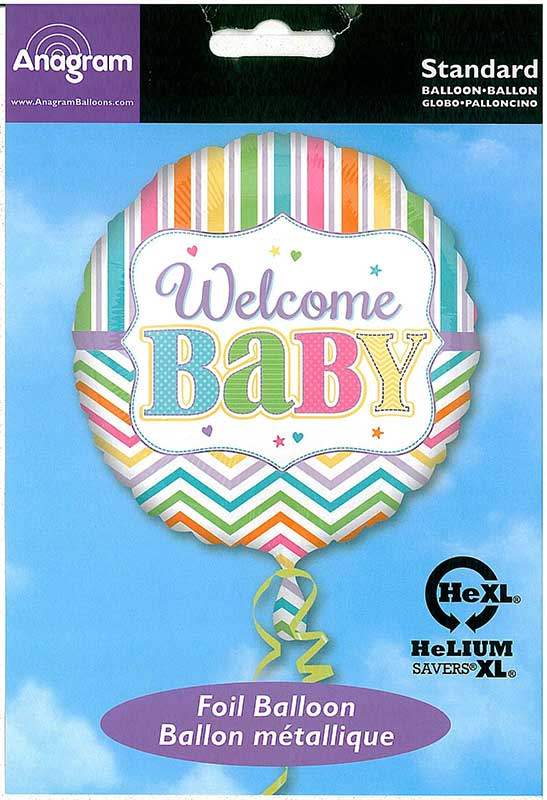 Welcome Baby Pastell